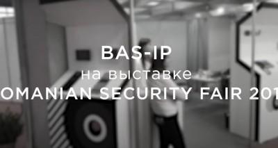 BAS-IP на выставке Romanian Security Fair 2018